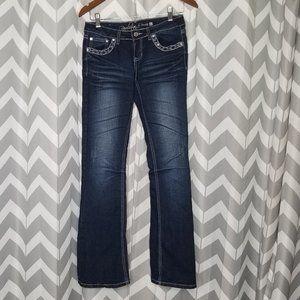 🔴REVOLT dark wash denim jeans